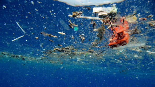 Scientists manipulate a natural enzyme to eat plastic  Brisbane-powerhouse-a-plastic-ocean-2017-3-1178x663
