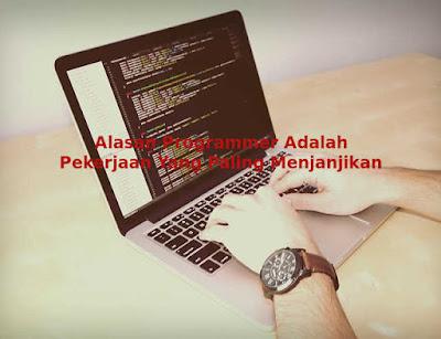 Alasan Programmer Adalah Pekerjaan Yang Paling Menjanjikan Pada Saat ini