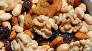 Niacina en los frutos secos