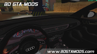 Car mod Audi RS6 2016 for GTA San Andreas , GTA SA