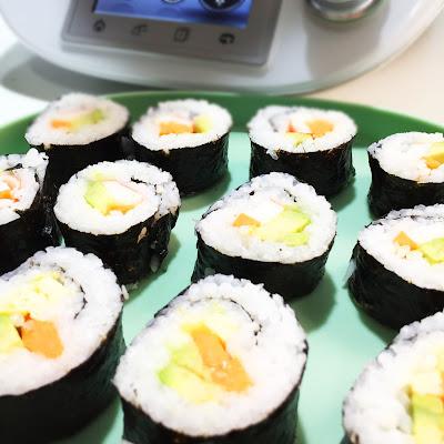 Sushi Casero Thermomix