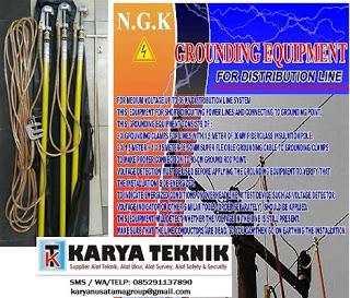 Jual Stick Grounding 20 Kv merk NGK