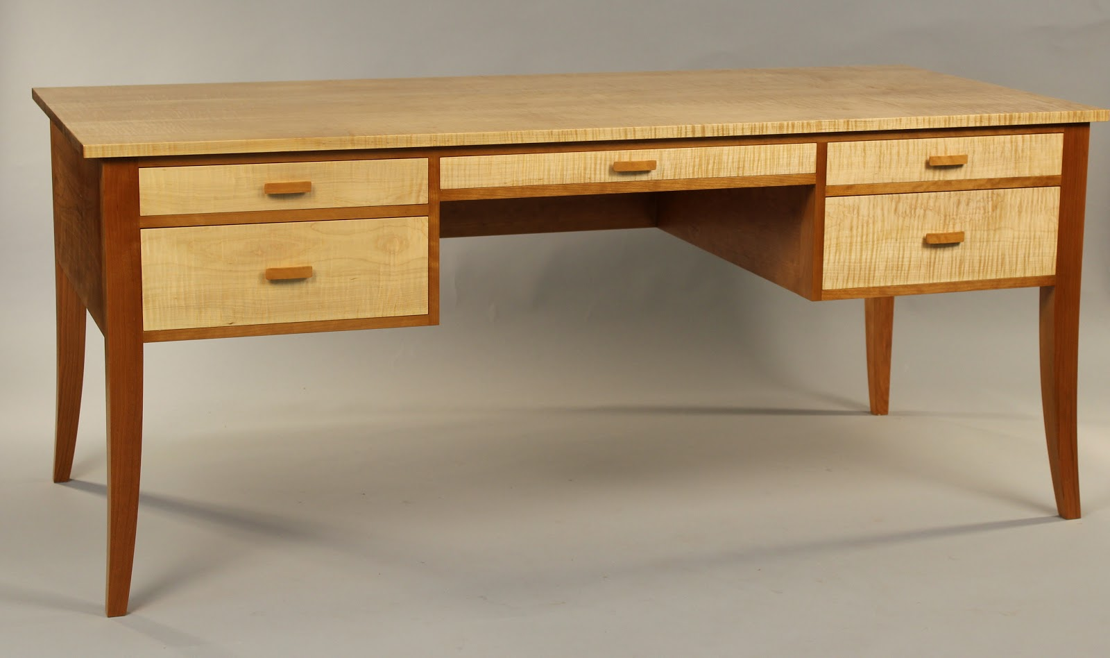 Doucette And Wolfe Fine Furniture Makers Writing Desk