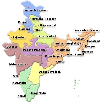 Indian States and Union Territories Maps | Indian States and ... on great britain map, u.s. regions map, arunachal pradesh, french regions map, tamil nadu map, state capitals map, tonga map, iran map, uttar pradesh, indian states and capitals, brazil map, european nations map, new delhi, tamil nadu, cyber world map, india map, indiana county map, jammu and kashmir, maharashtra map, himachal pradesh, bangladesh map, cape of good hope map, andhra pradesh map, indiana state map, andaman and nicobar islands, illinois-indiana map, saudi arabia map, andhra pradesh,