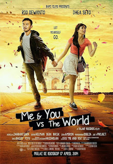 Sinopsis Film Me & You vs The World (2014)