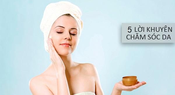5 lời khuyên chăm sóc và phục hồi da khi bị cảm