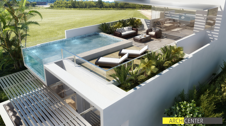 Architecture interior design on pinterest townhouse - Casa de playa ...