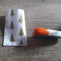 tuto diy photo berlingots de noel calendrier de l'avent arbre branche original