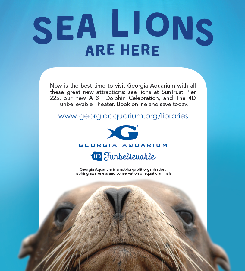 Bookmarked: Georgia Aquarium Offers Discounts For Library