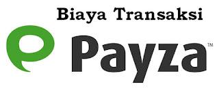 Biaya Transaksi di Payza