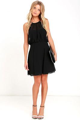 Vestidos de noche negros