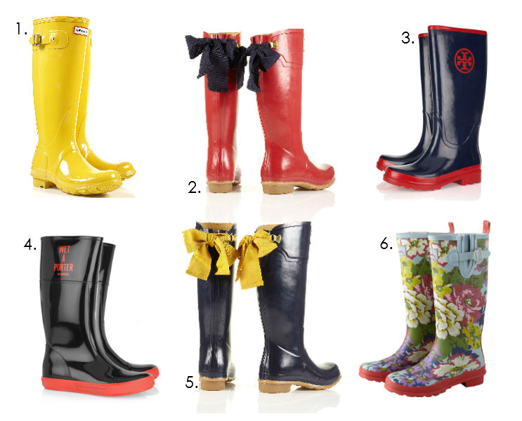 dd6851a80f00 SIX OF THE BEST  SS12 RAINY-DAY WELLINGTON BOOTS