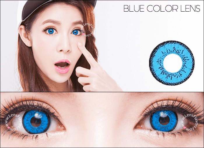 eos dolly eye blue circle lenses
