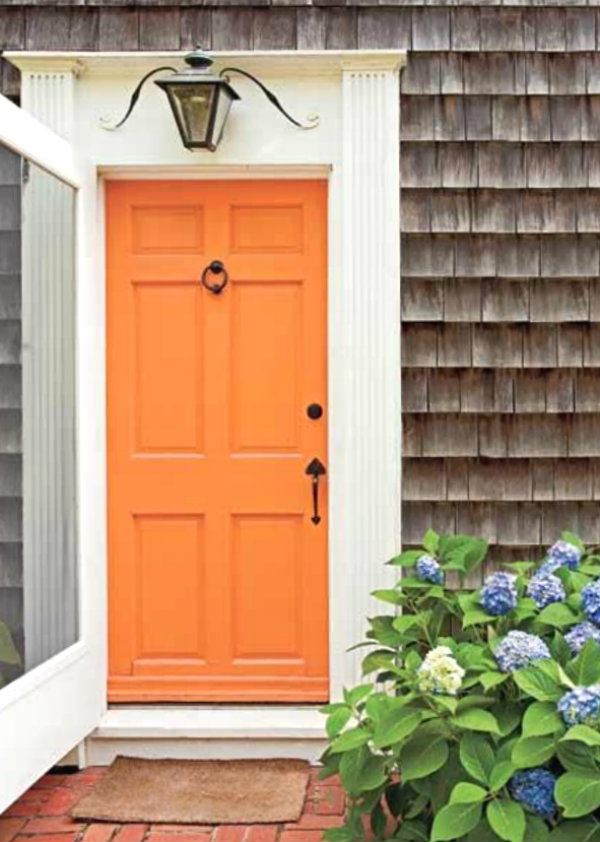 that orange door! & ciao! newport beach: that orange door!