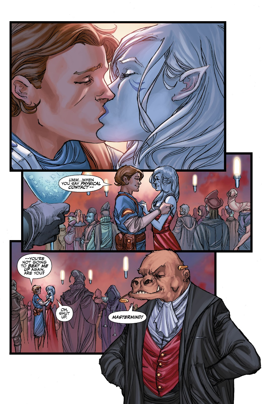 Read online Star Wars Legends: The Old Republic - Epic Collection comic -  Issue # TPB 3 (Part 4) - 1