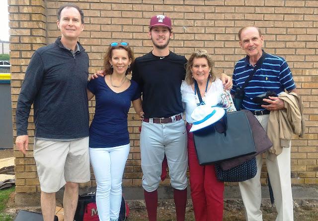 Family of Trinity U student Mason Meredith
