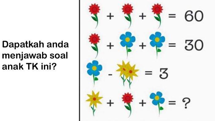 Kumpulan soal bahasa inggris hots sebagai latihan soal persiapan seleksi tes. Soal Matematika Anak TK Dan Kunci Jawaban 2019