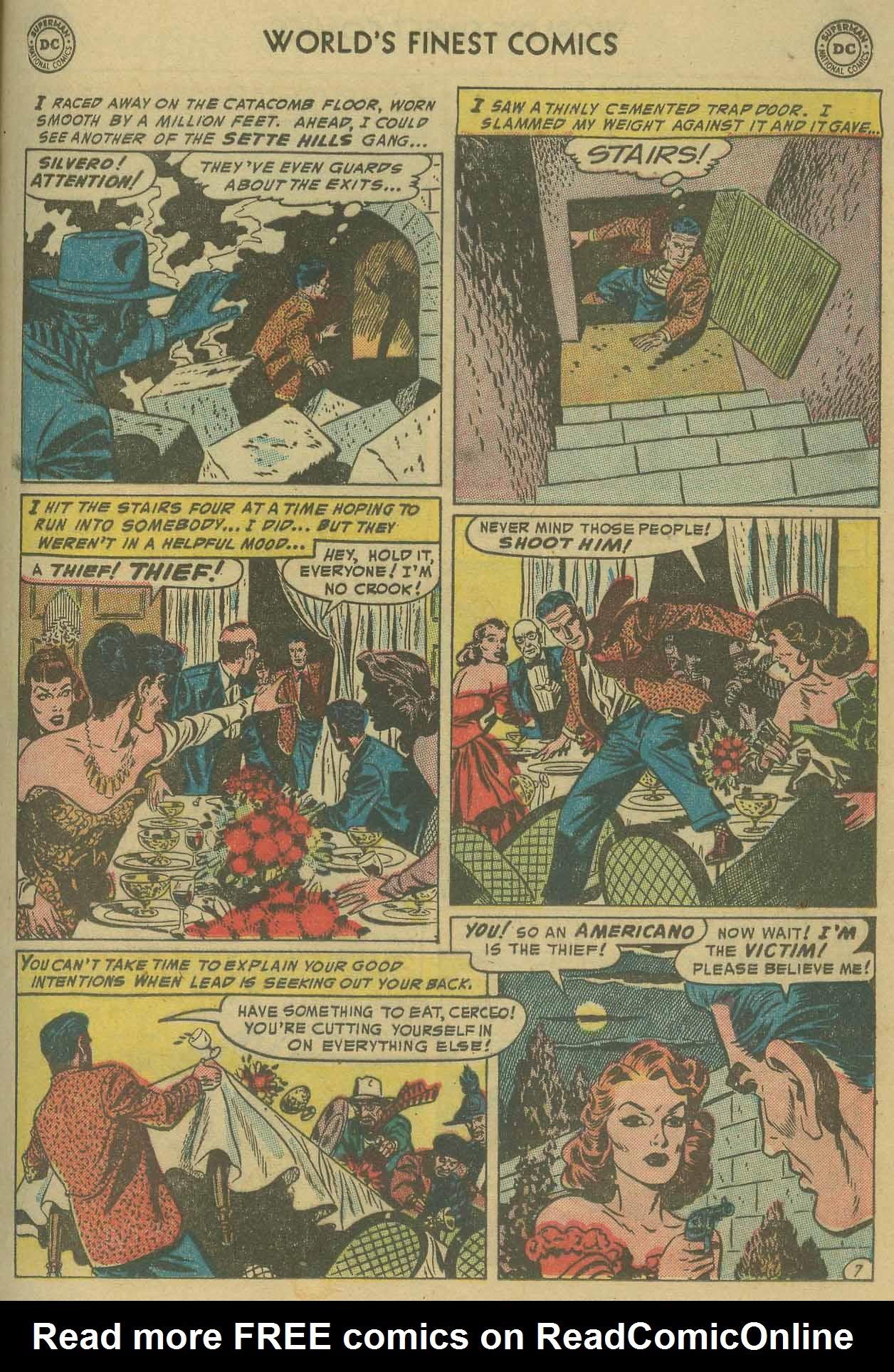 Read online World's Finest Comics comic -  Issue #69 - 49
