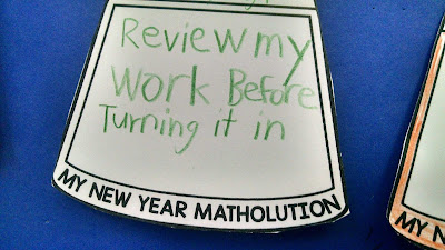 "Student matholution: ""Review my work before turning it in."""