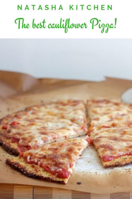 The best cauliflower Pizza!