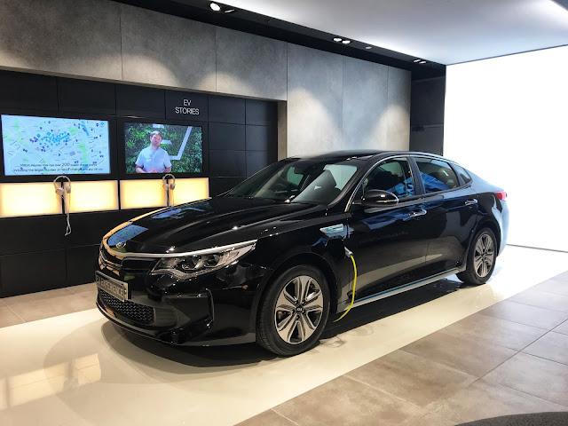 Electric Vehicle Experience Centre Milton Keynes
