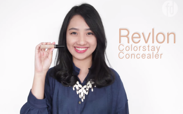 Noda Tersamarkan Dengan Produk Concealer Revlon