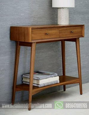 bufet kayu jati model klasik