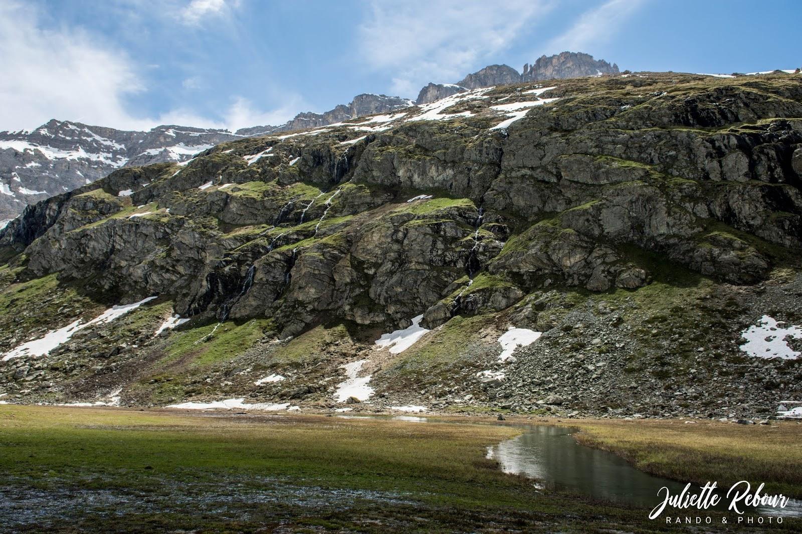 Randonnée près de Peisey-Vallandry