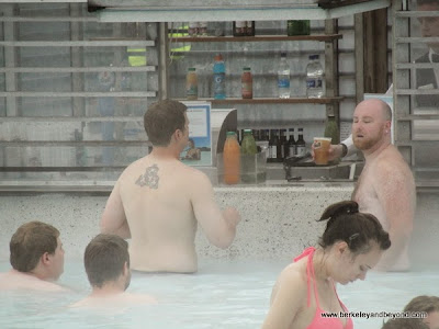 bar at Blue Lagoon in Iceland