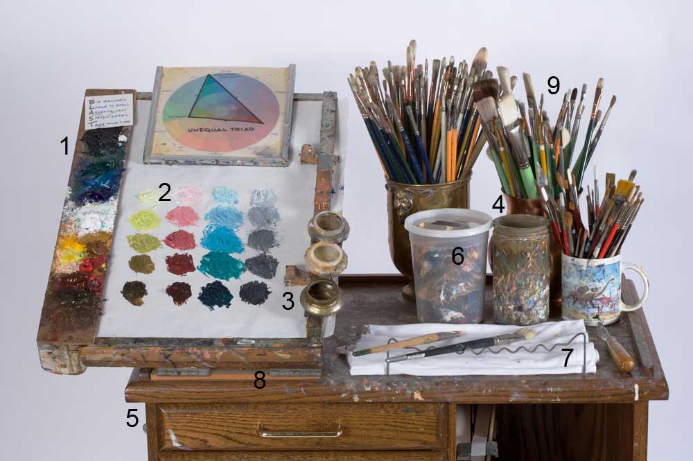 Gurney Journey: Palette Clamp