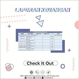 Laporan Keuangan Mei - Agustus 2018
