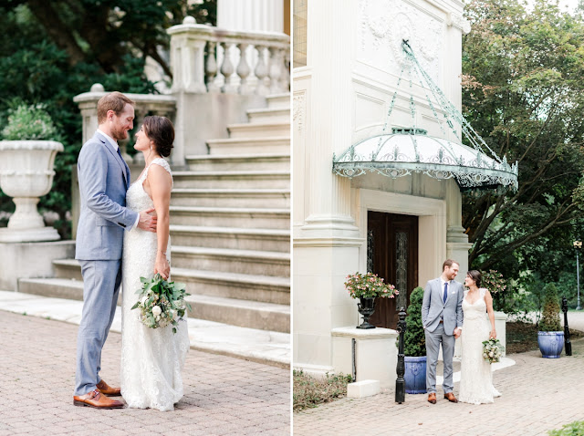 Baltimore MD Summer Wedding at Evergreen Museum and Library photographed by Heather Ryan Photography