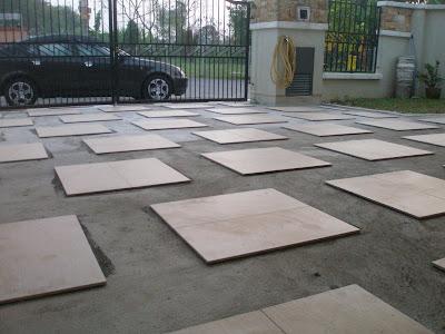 14 Beautiful Design Tiles Untuk Car Porch