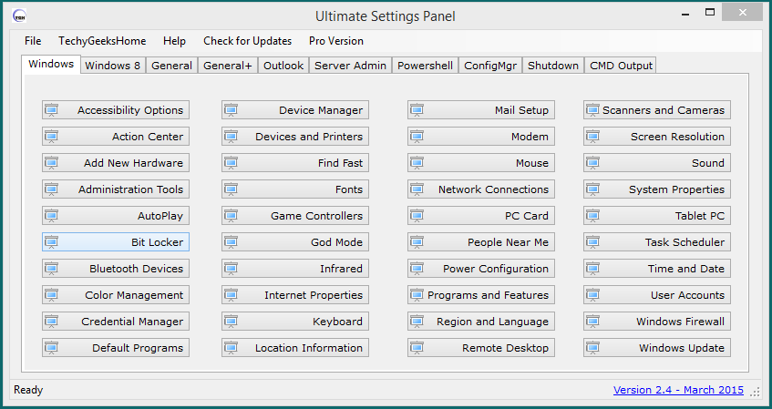 Ultimate Settings Panel v2.6 Released 1