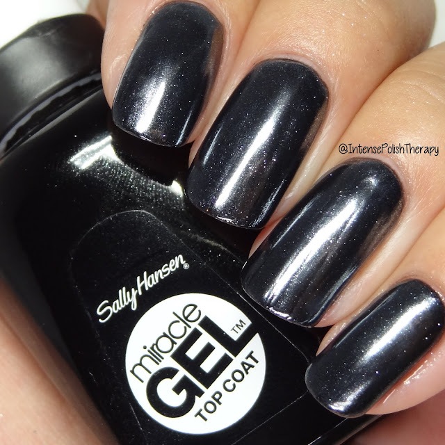 Sally Hansen Salon Chrome - Gunmetal