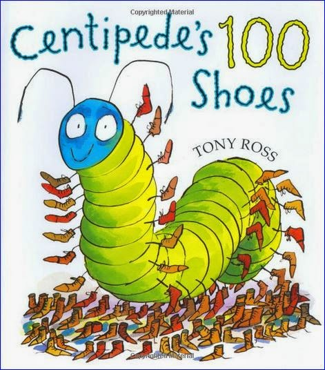 Centipede S  Shoes Maths Activities