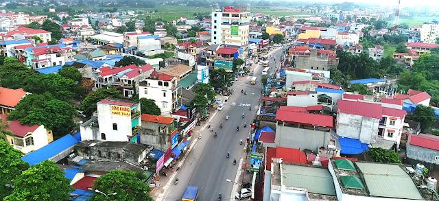 Thị trường bất động sản Phổ Yên đang cực kỳ sôi động