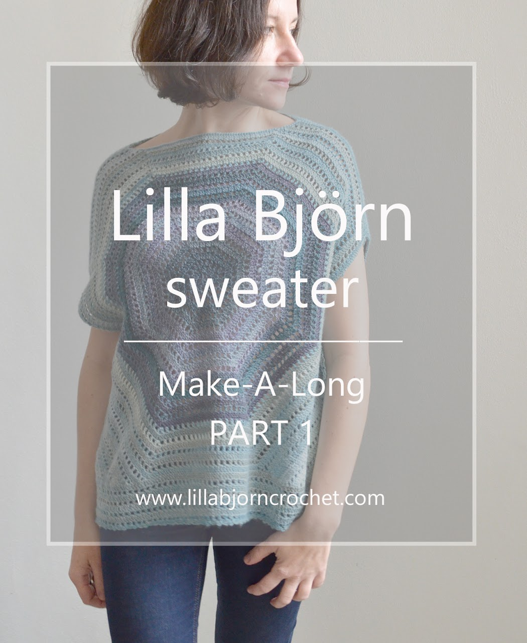 Lilla Bjorn Sweater - FREE crochet pattern by www.lillabjorncrochet.com