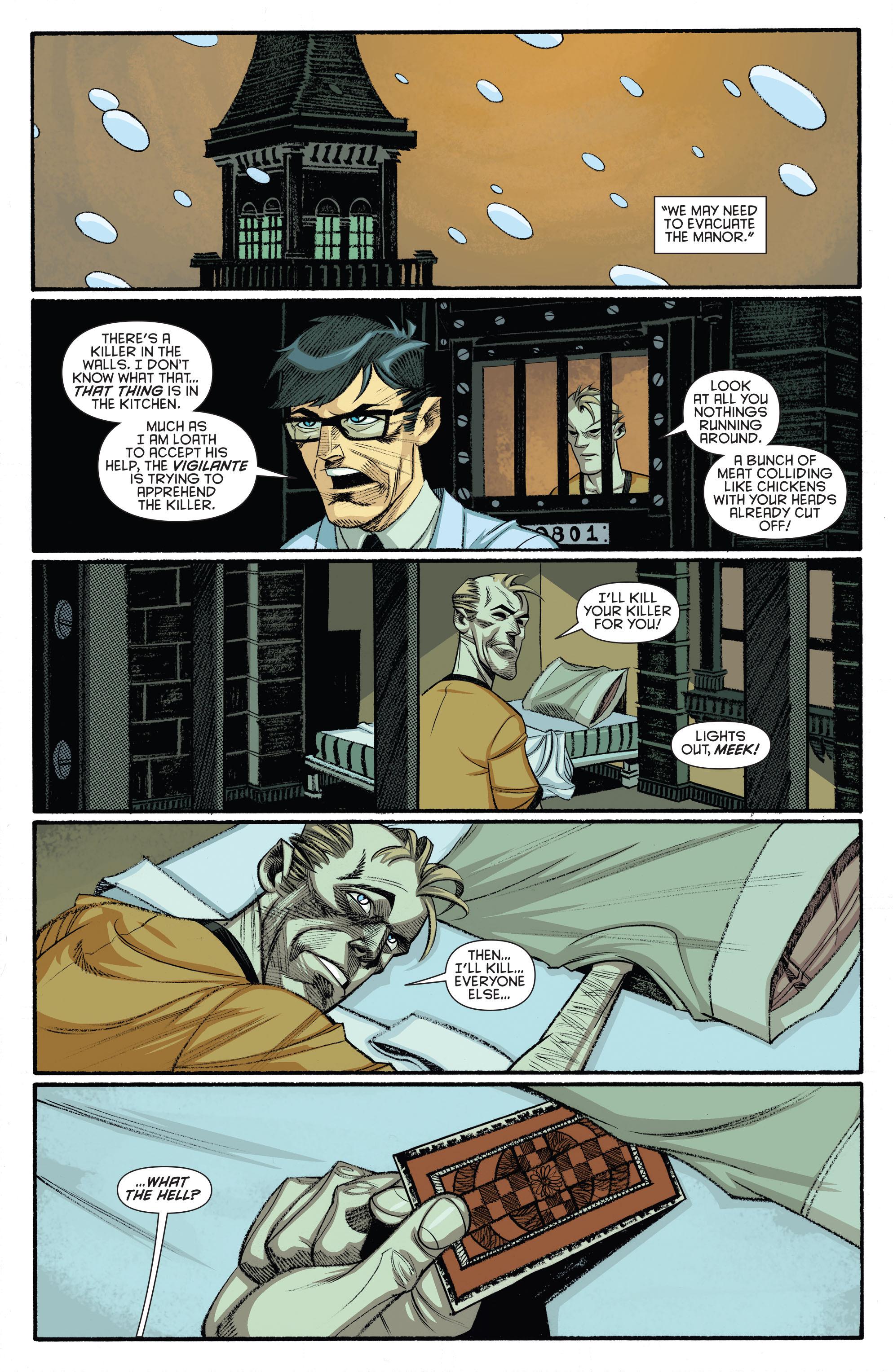 Read online Arkham Manor comic -  Issue #5 - 2