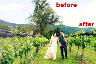 5 Langkah Membuat Efek Pre-Wedding Dengan Photoshop