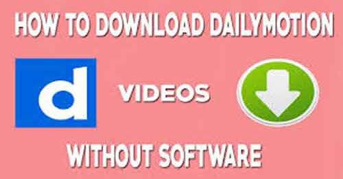 how to Download Video from Dailymotion, Youtube Vimeo, Twitter, Facebook Video without any Software