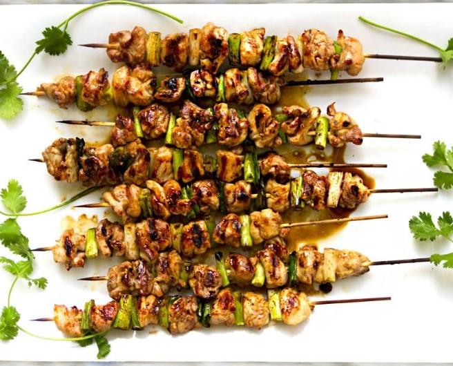 Yakitori Chicken #asianfood #grillrecipe