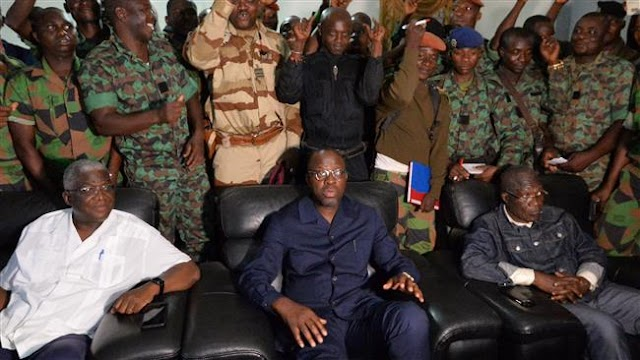 Mutinous troops release Ivory Coast's Defense Minister Alain Richard Donwahi