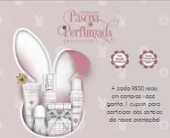 Promoção Giovanna Baby Páscoa 2019 Perfumada Kits e Vales-Compras 100 Reais