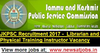 JKPSC-141-Librarian-Recruitment 2017