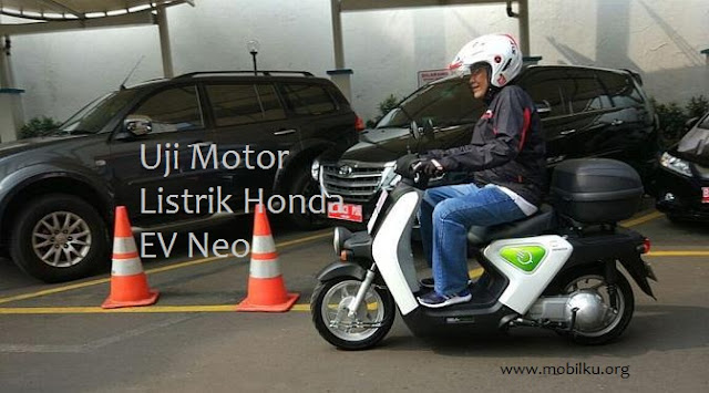 motor, listrik, dari, honda, AHM