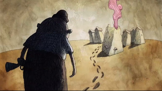 mediapose: Footprints, de Bill Plympton