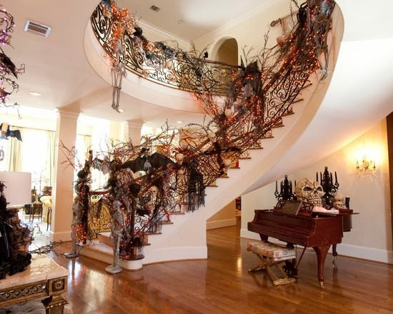 J douglas design halloween decor interior design that Scary halloween decorating ideas inside