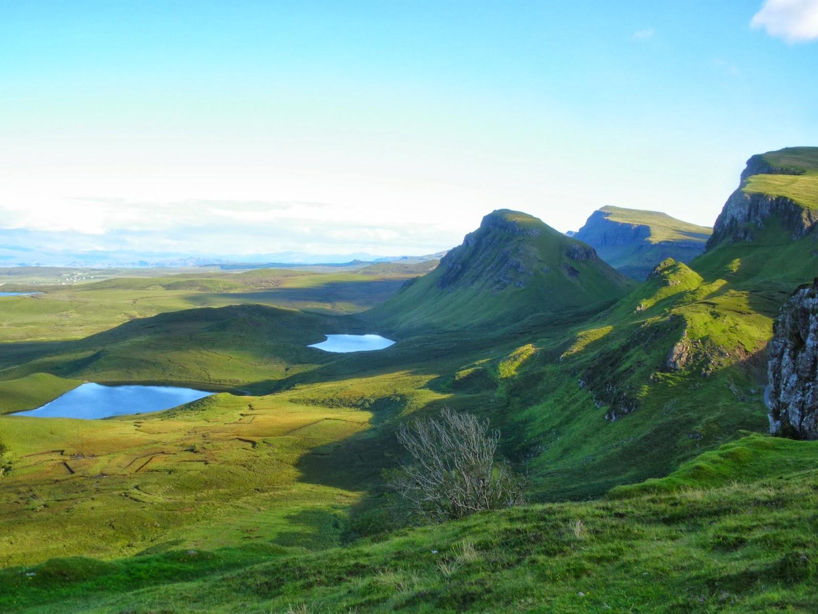 Isle of Skye, Trotternish, Highlands, Scotland, Escocia, United Kingdom, Quiraing