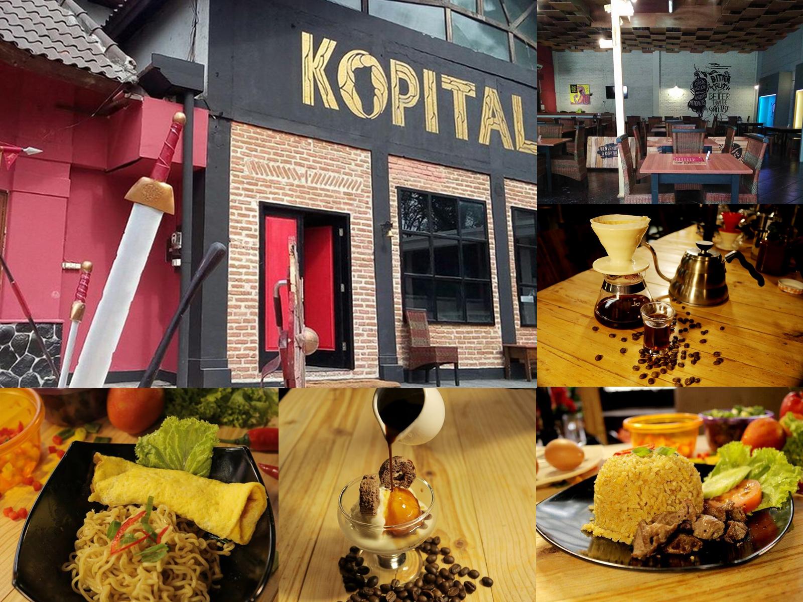 Cafe Kopital Jln WR Supratman Bandung